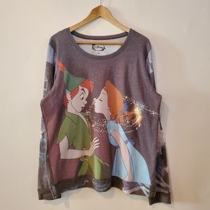 Disney Peter Pan Wendy Pullover Sweater XXL 2x